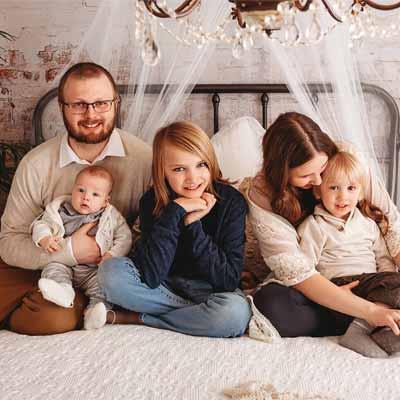 Best Studio Portrait Family Photography In Bradford, Ontario.