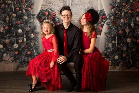 Christmas Family Children Photography Session Packages